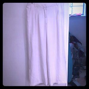 🎹White Dress Pants sz 8🎹